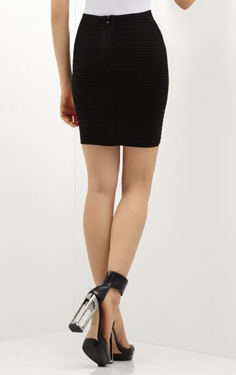 Haile Twist Detail Bandage Skirt