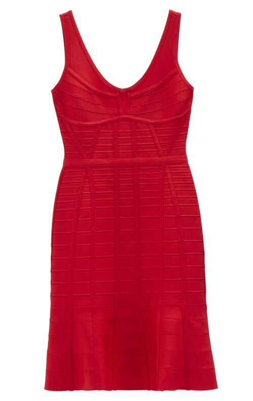 Christina Novelty Essentials Bandage Dress