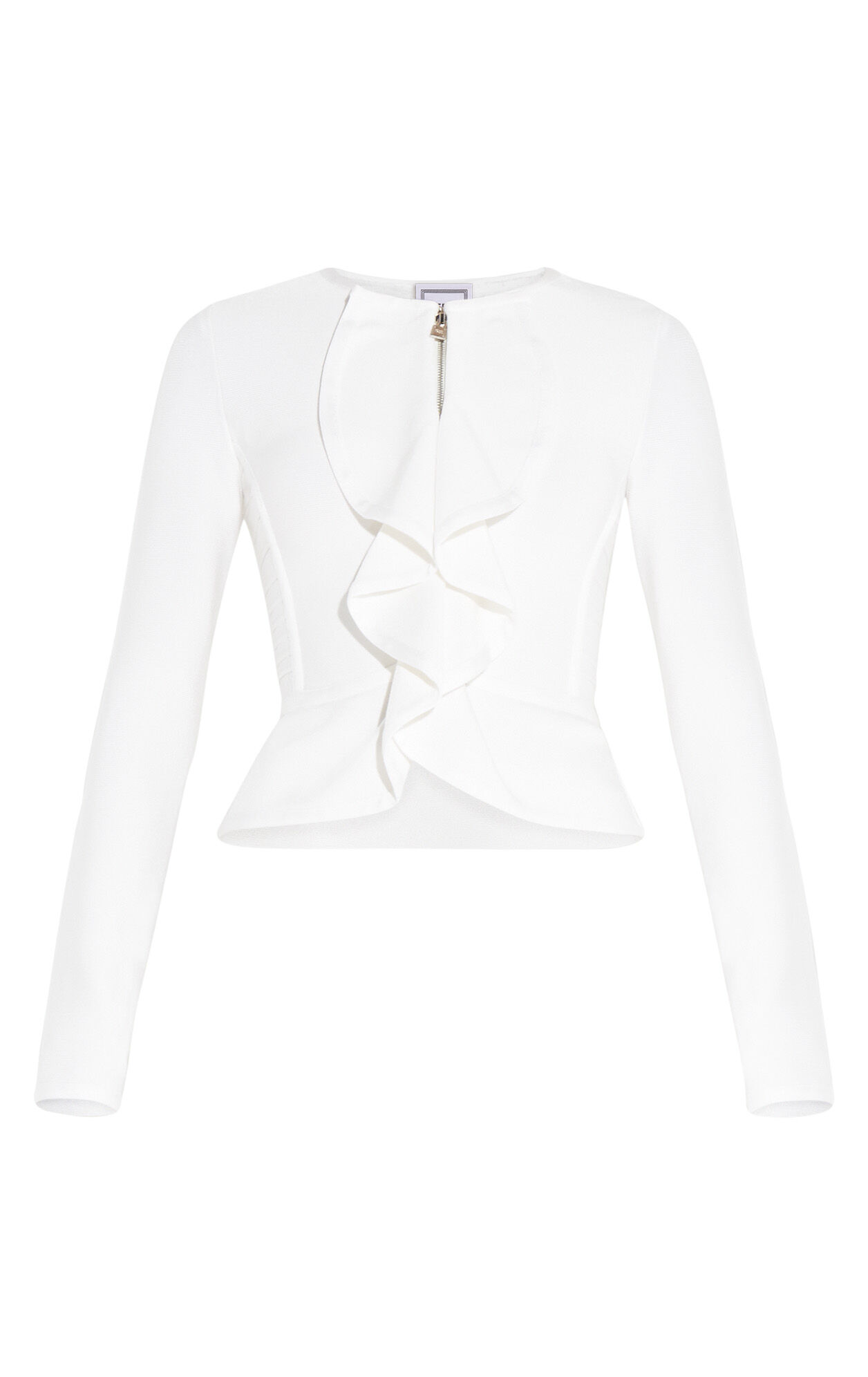 Kaydan Signature Essentials Peplum Cardigan