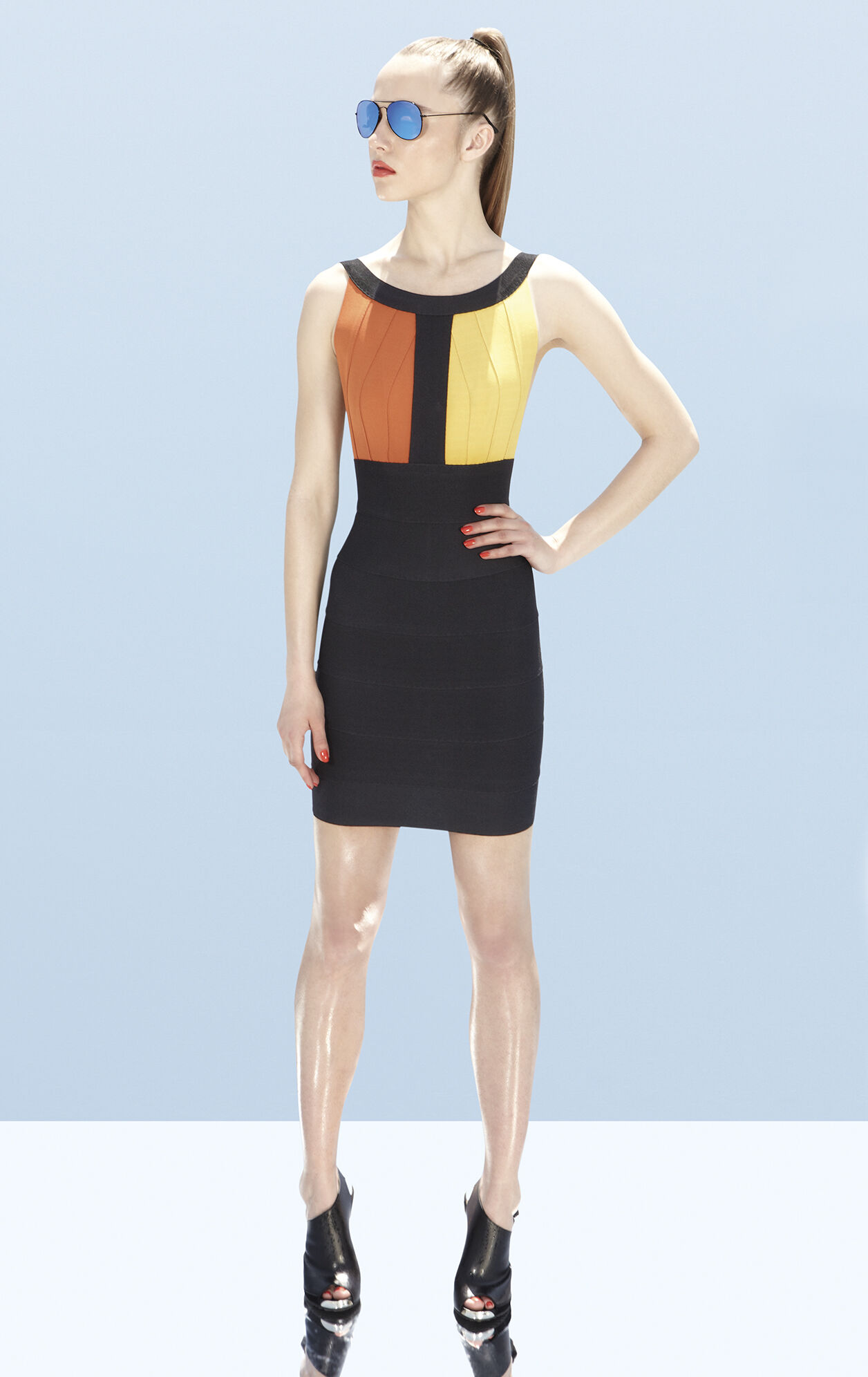 Romy Colorblocked Dress