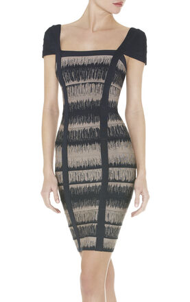GEMMA BANDAGE DRESS