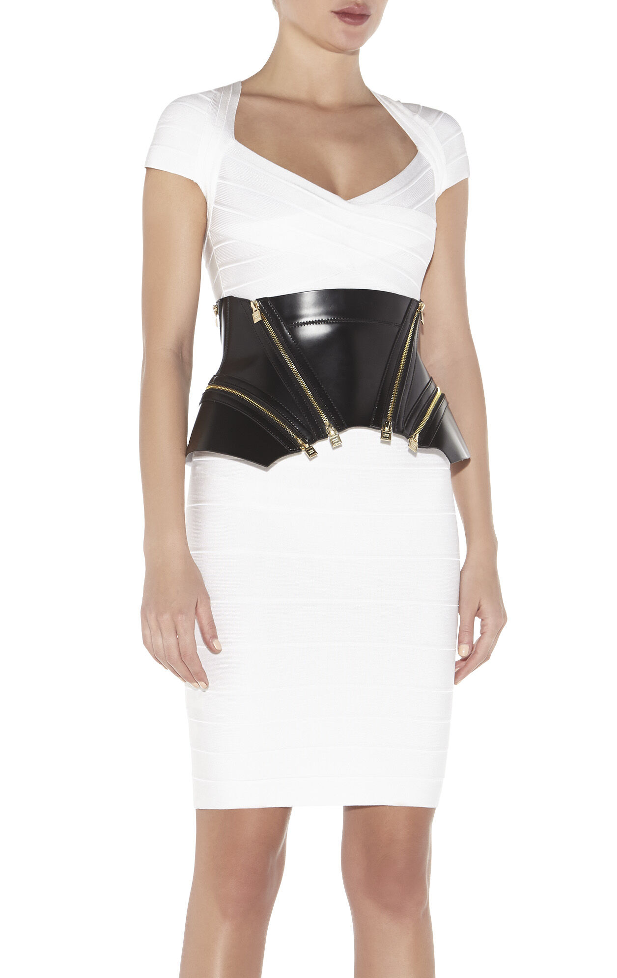 Structured Peplum Corset Belt