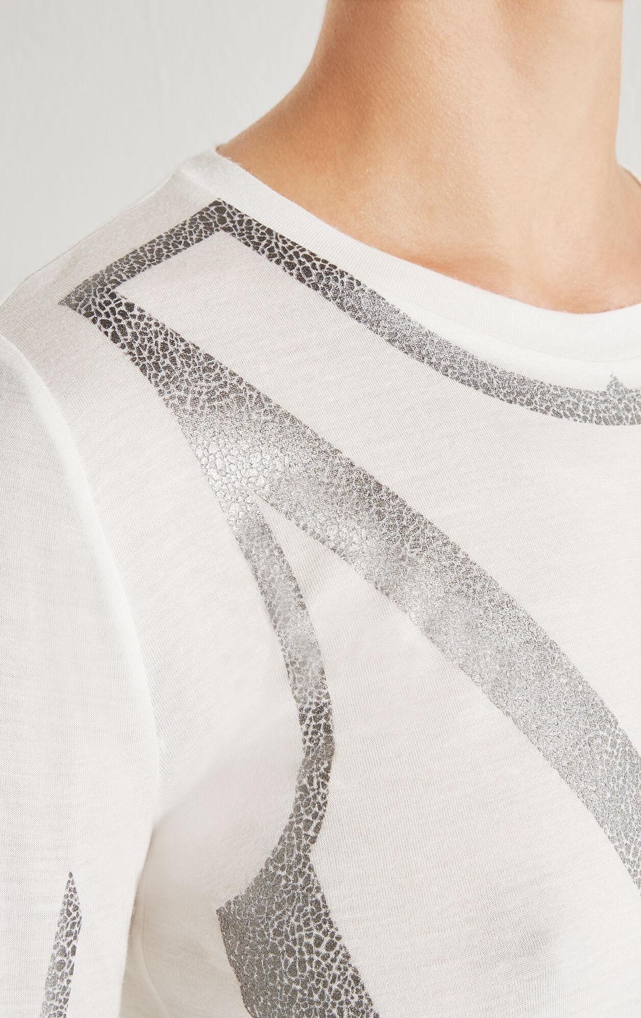 Dahlia Foil Print Long-Sleeve Tee