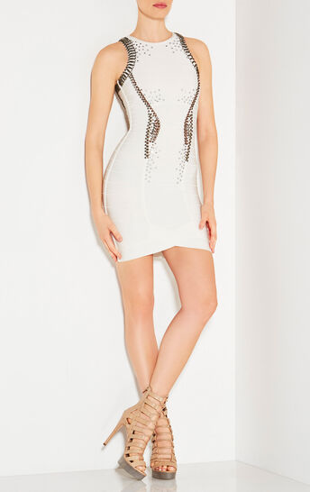 Suniya Multi-Studded Beaded Dress