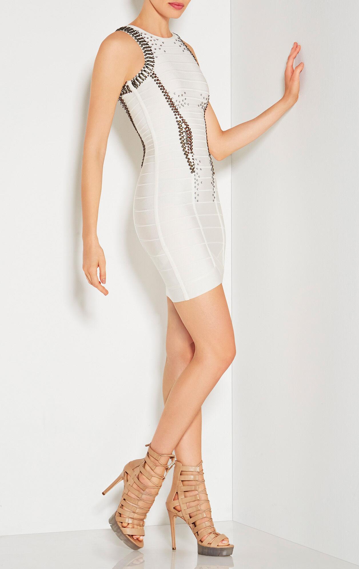 Suniya Multi-Studded Beaded Dress