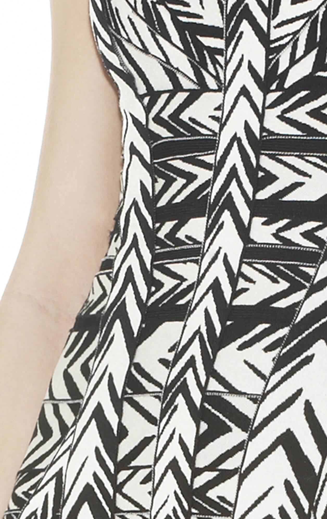 Sanne Jacquard Bandage Dress
