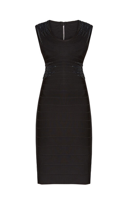 Janelle Starburst Sequined Dress