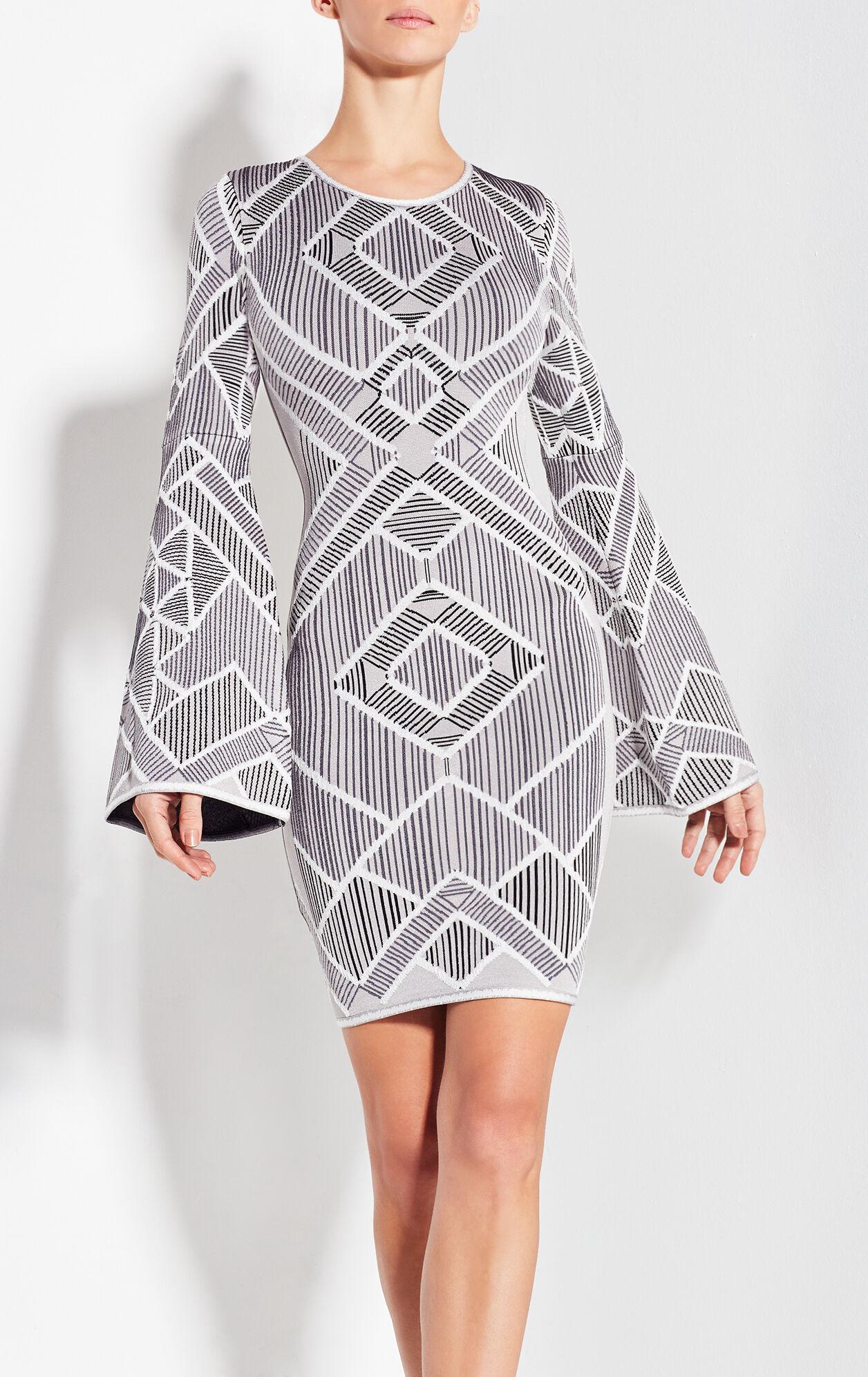 Skyler Diagonal Multicolored Macrame Dress