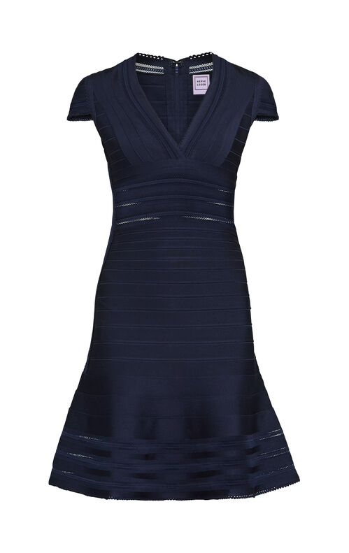 Victoria Mesh Bandage Dress