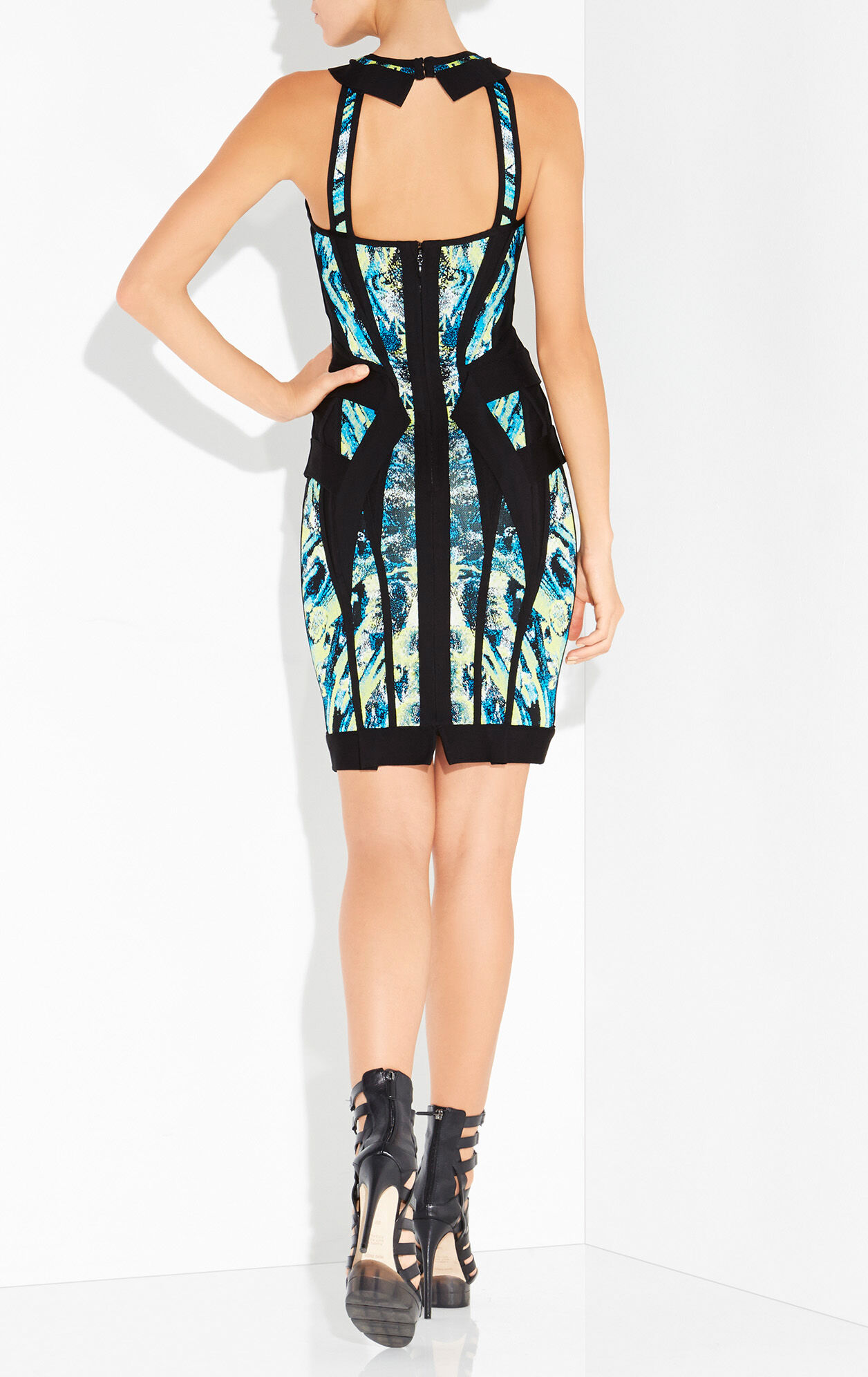 Damiana Ceiling Textured Jacquard Dress
