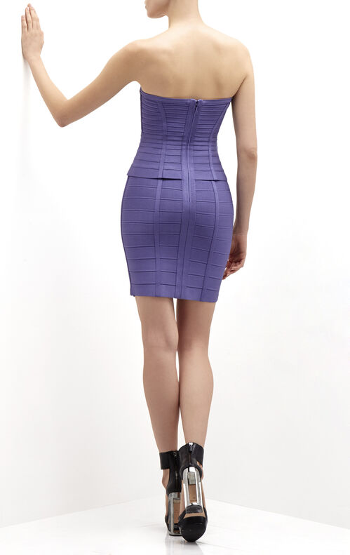 Nichol Twist Detail Bandage Dress