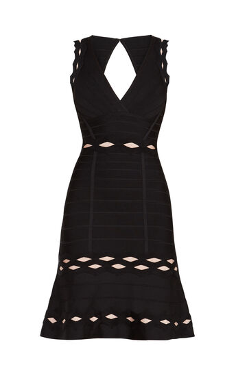 Mathilde Zigzag Jacquard Dress