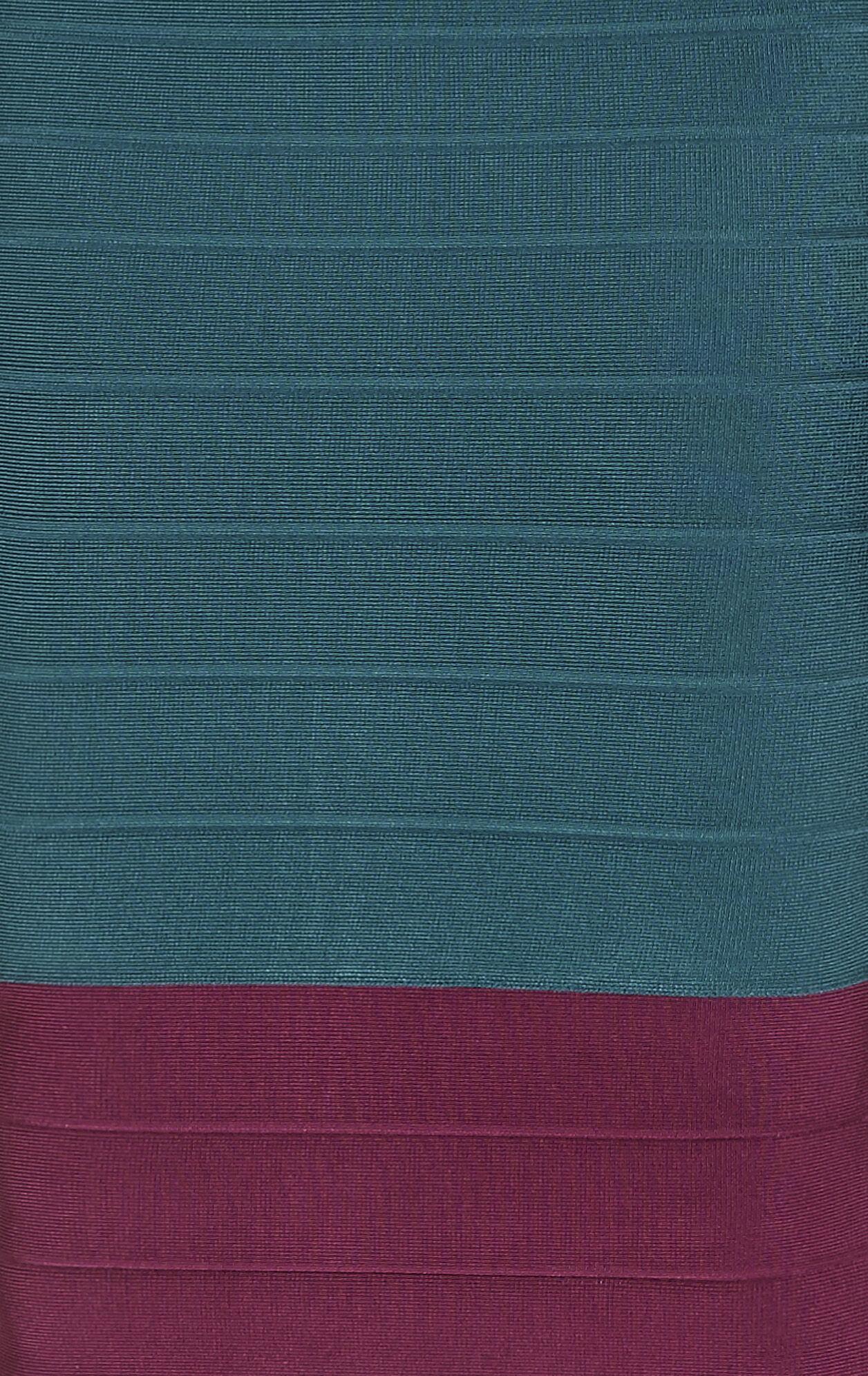 Lania Multi Colorblocked Dress