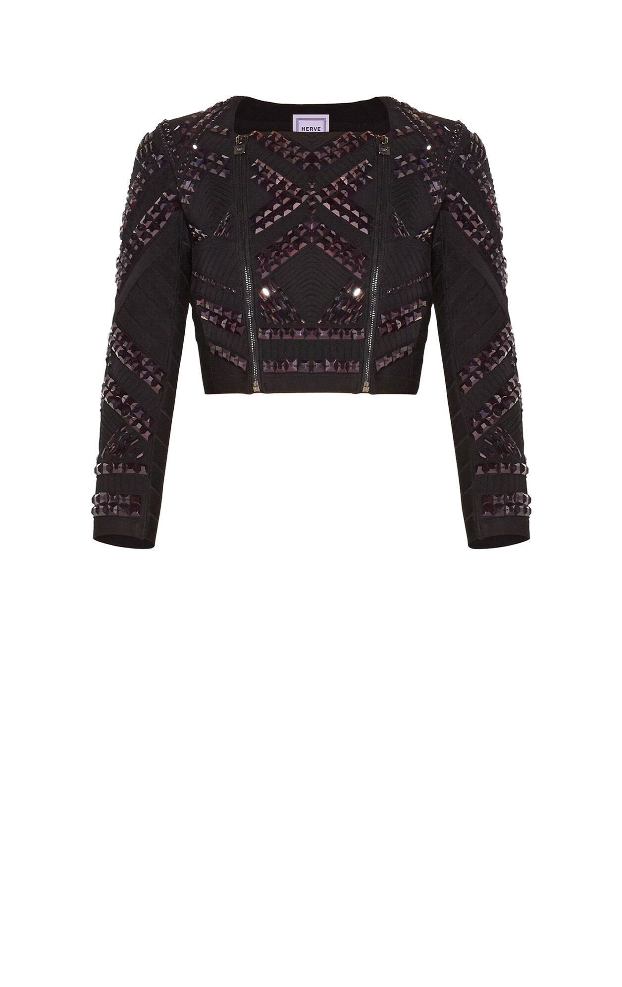Lanna Scallop Detail Beaded Jacket
