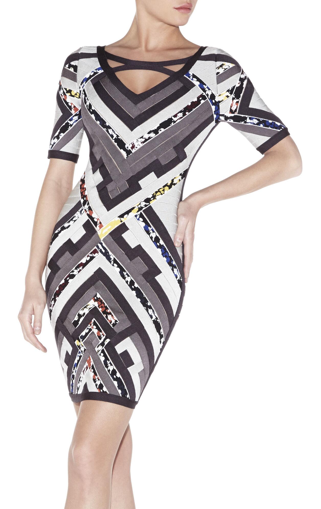 Kauri Multi-Color Patchwork Dress