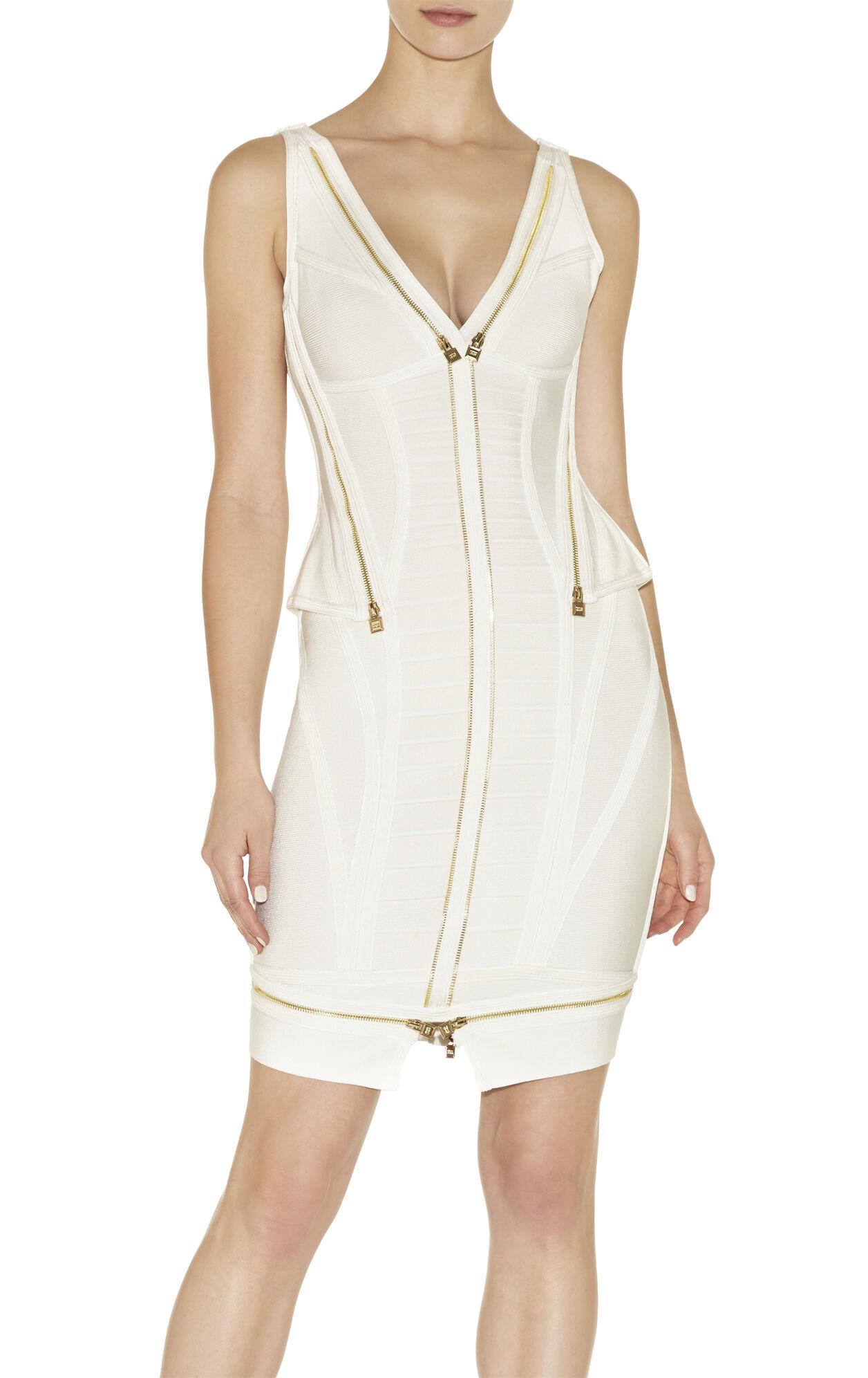 Jeanne Zipper-Detailed Dress