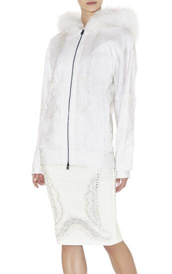 Rowe Hooded Fur Jacket