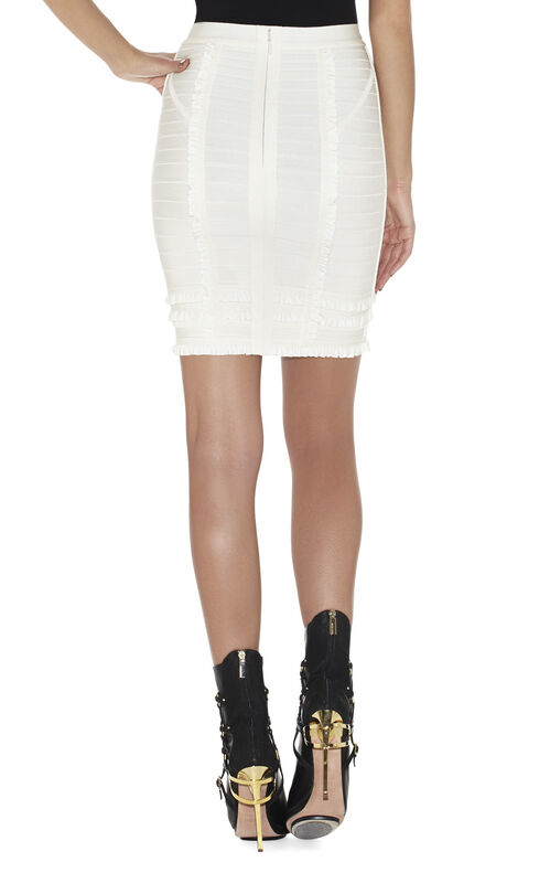 Mirni Tiered-Ruffle Skirt