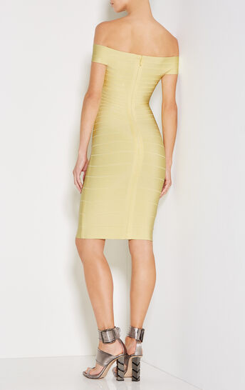 Kaelyn Off-Shoulder Bandage Dress