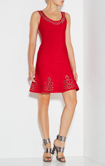 Blakely Multi-Eyelet Dress