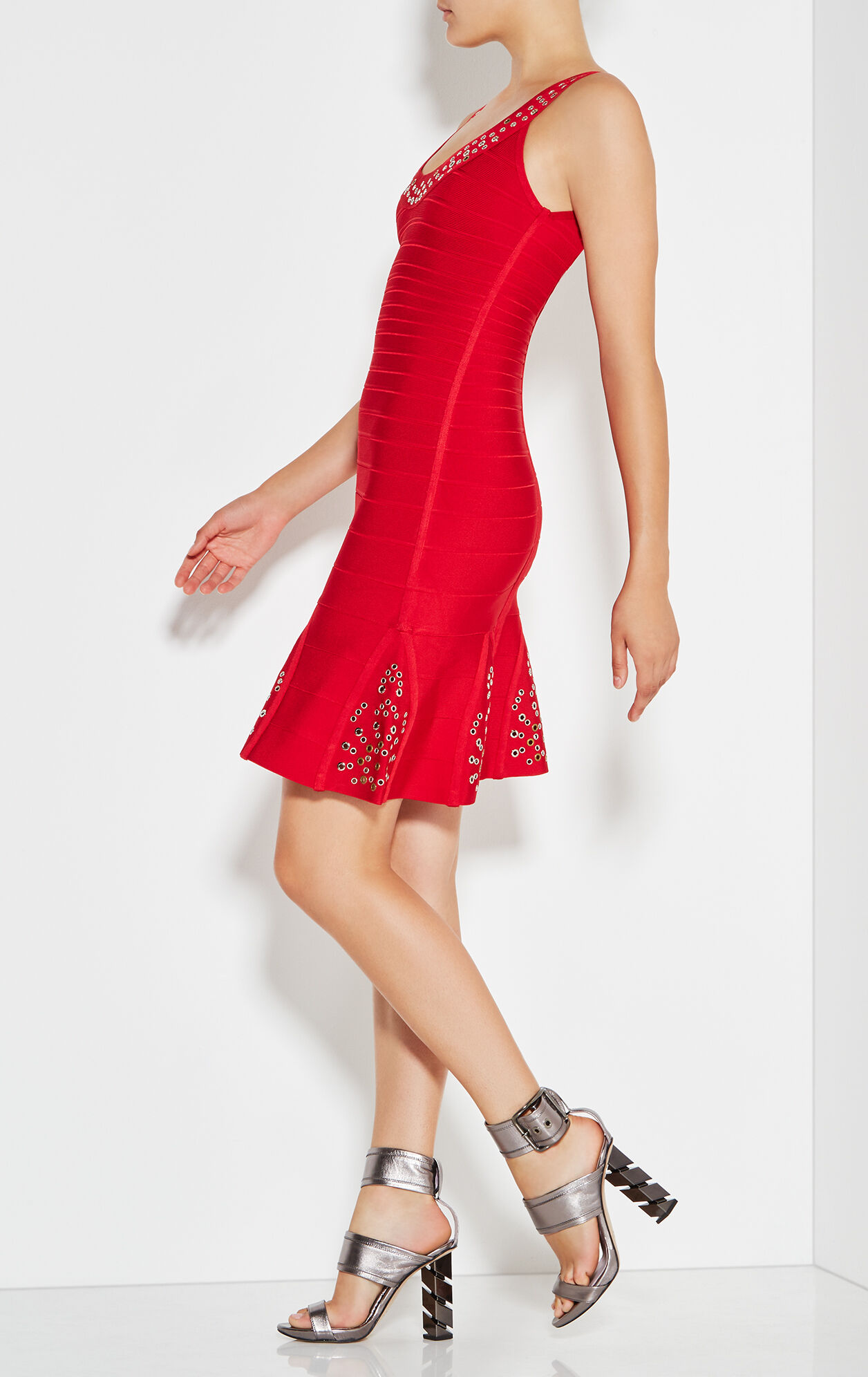 Blakely Multi-Eyelet Dress