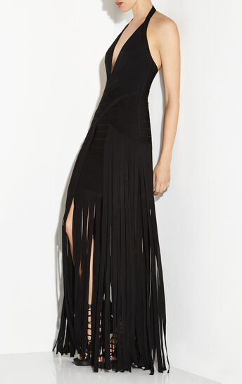 Rebekah Draped Bandage Gown