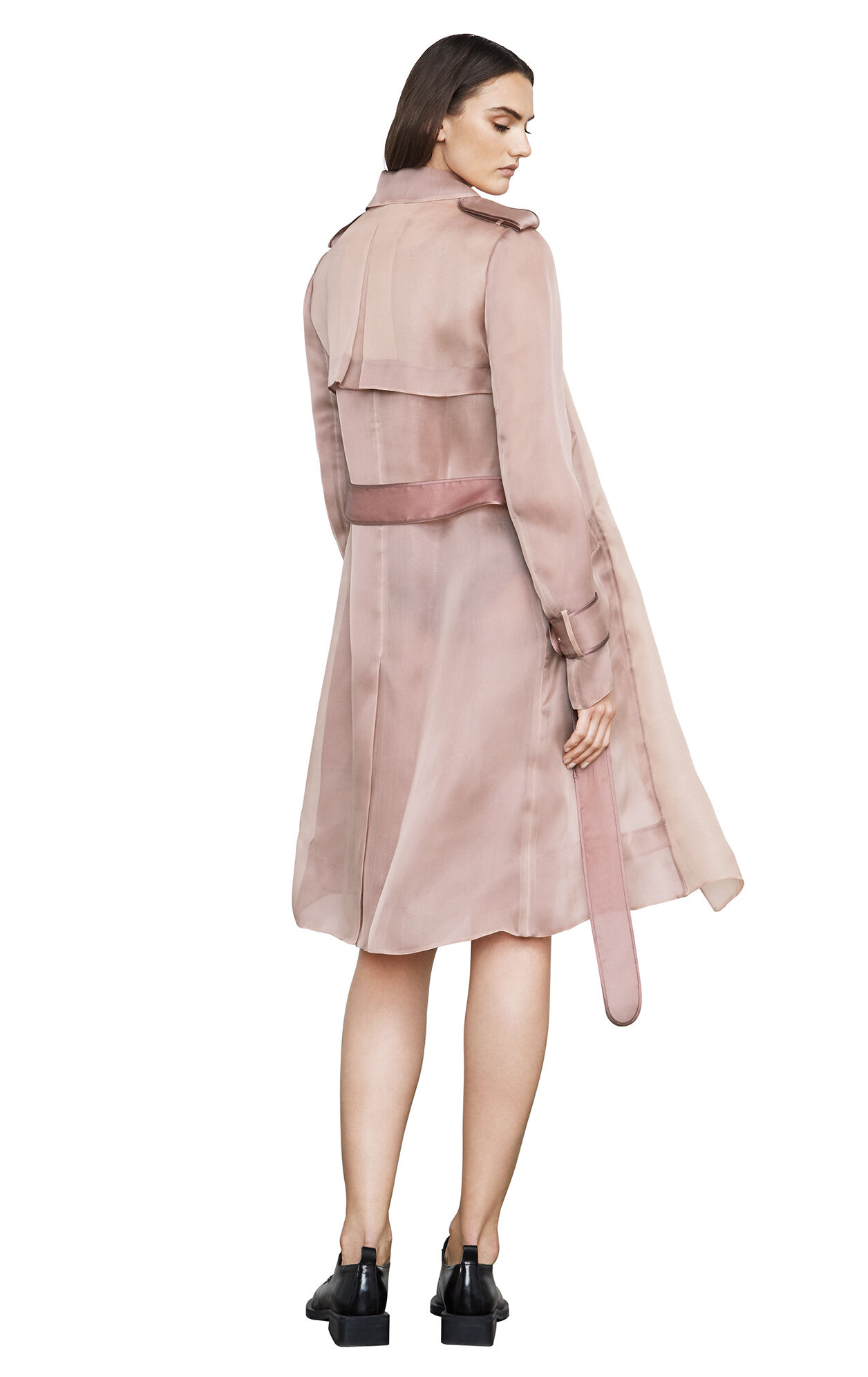 Lucas Organza Trench Coat