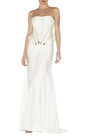 Carine Zipper-Detailed Dress