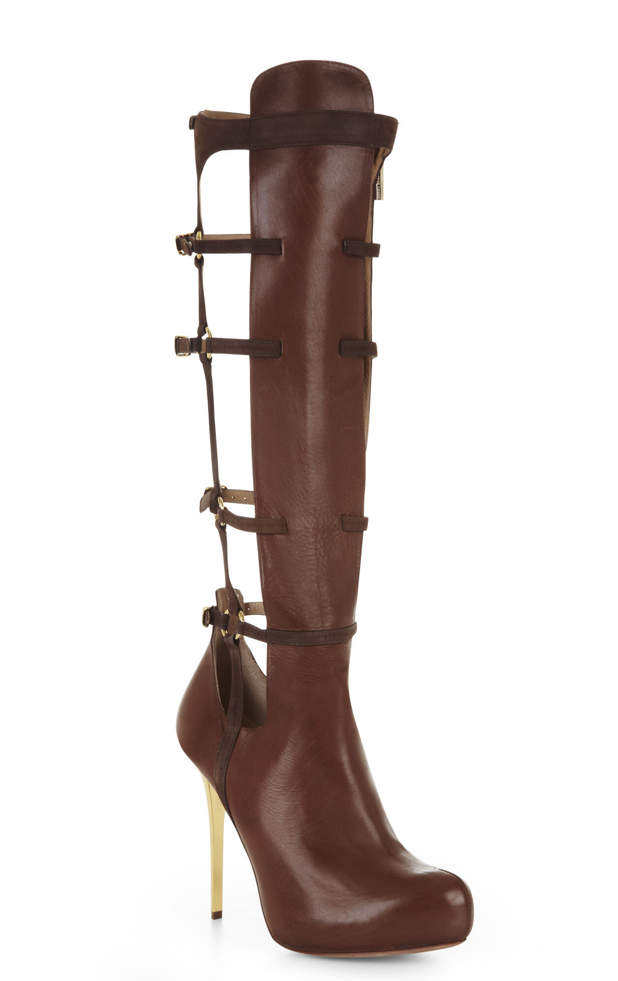 Abenia Strappy Leather Boot