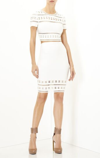 Gigi Embroidered Englese Cutout Top