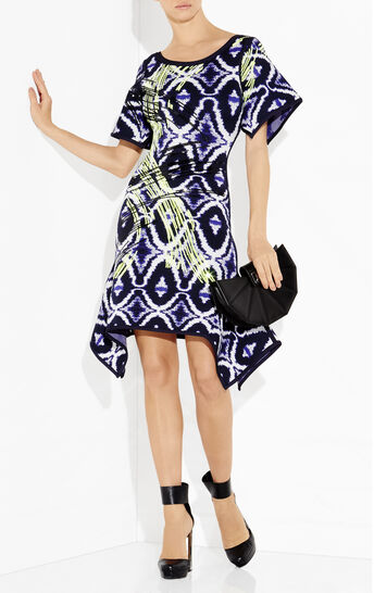 Rhian Ikat Jacquard Dress