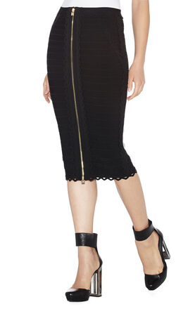 Caroline Cutout Scalloped Skirt