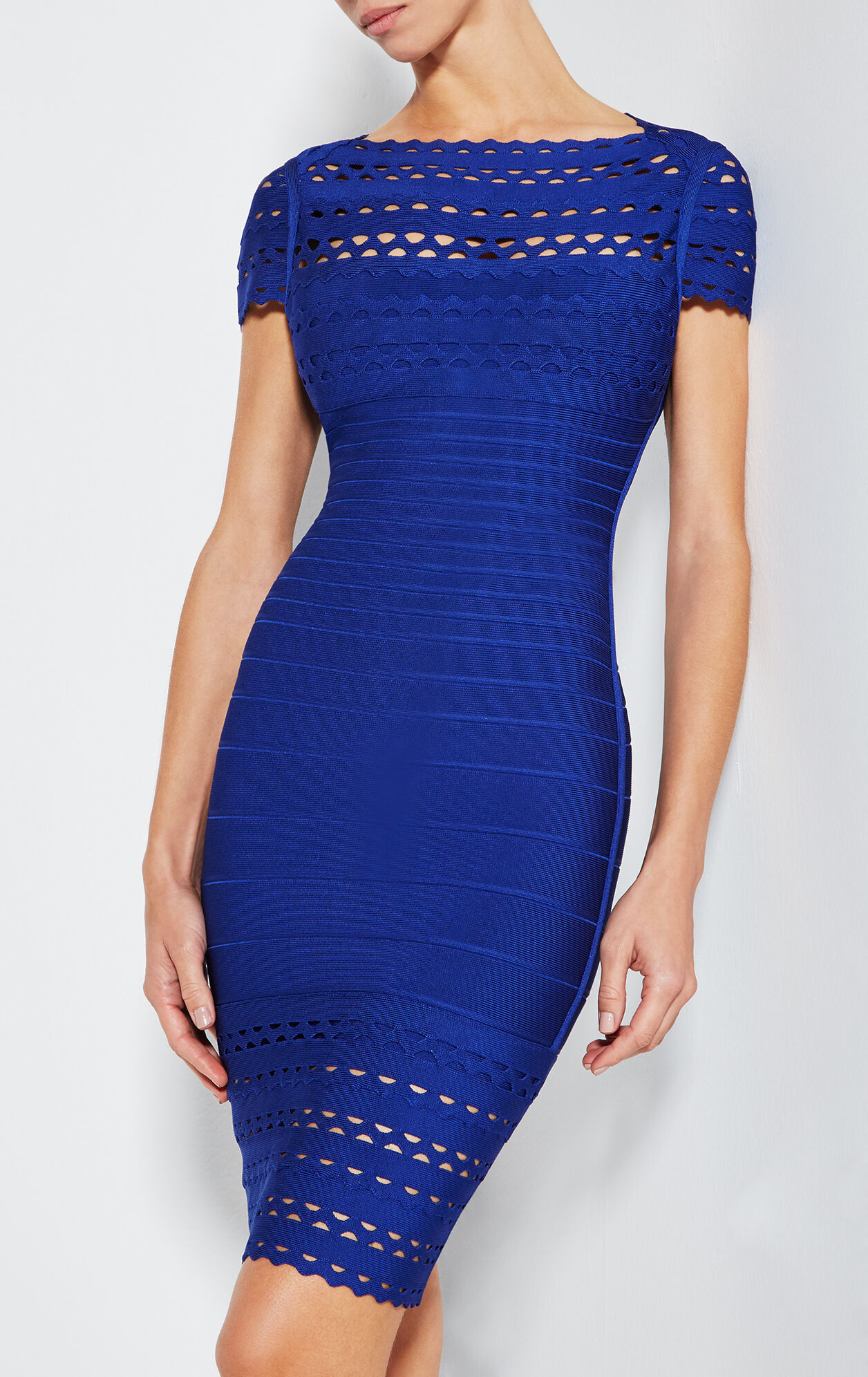 Tracie Cutout Bandage Dress