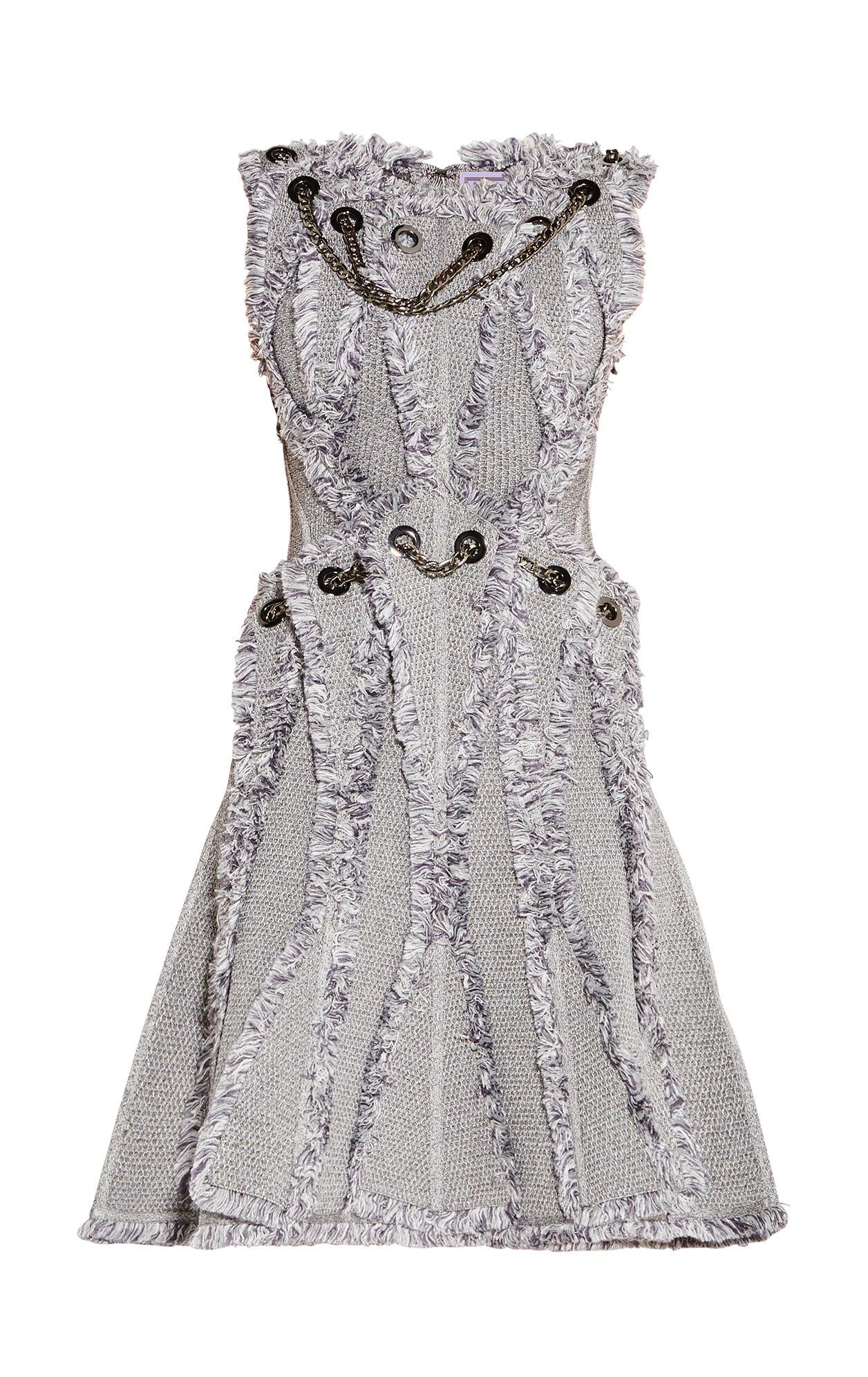Amirah Marled Fringe Dress