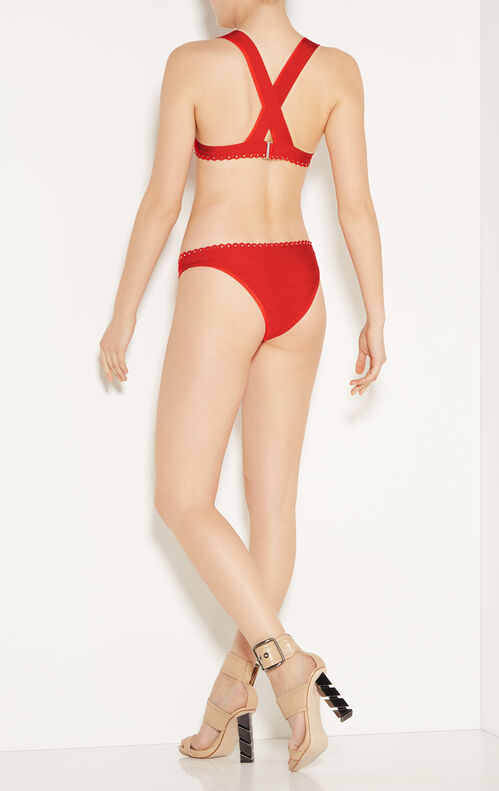 Kikki Studded Bandage Bikini Top