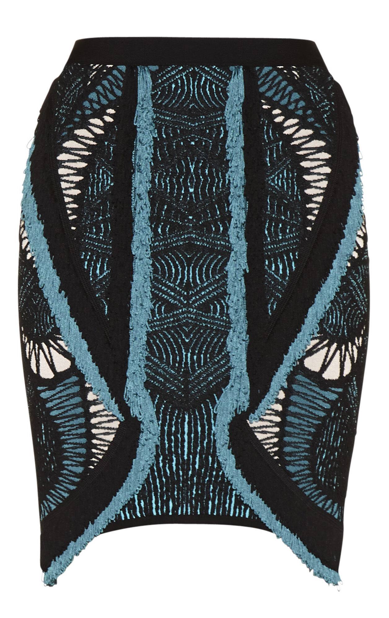 Calla Crochet Mesh Jacquard Skirt