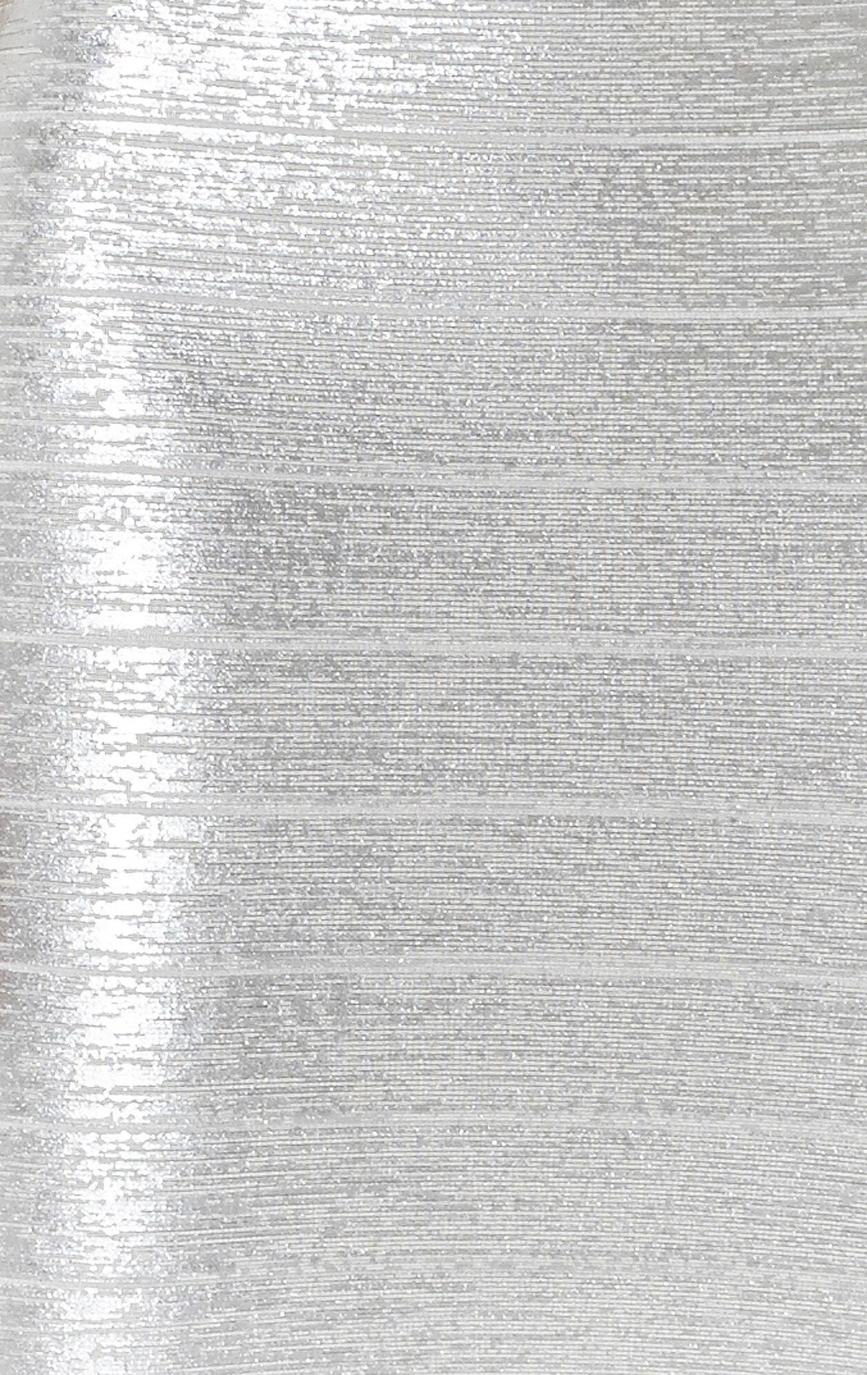 Karima Woodgrain Foil-Print Dress
