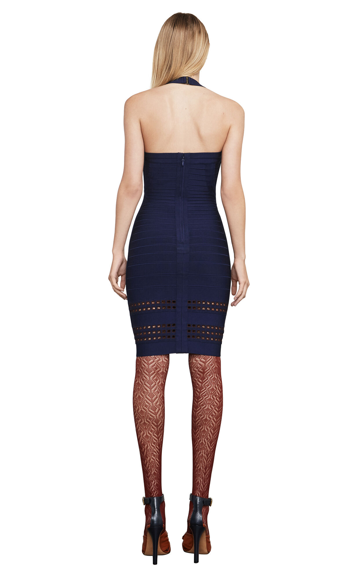 Jassalyn Geometric Bandage Dress