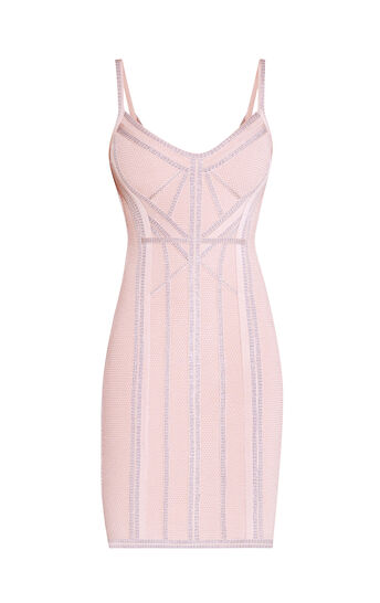 Elissa Metallic Jacquard Dress