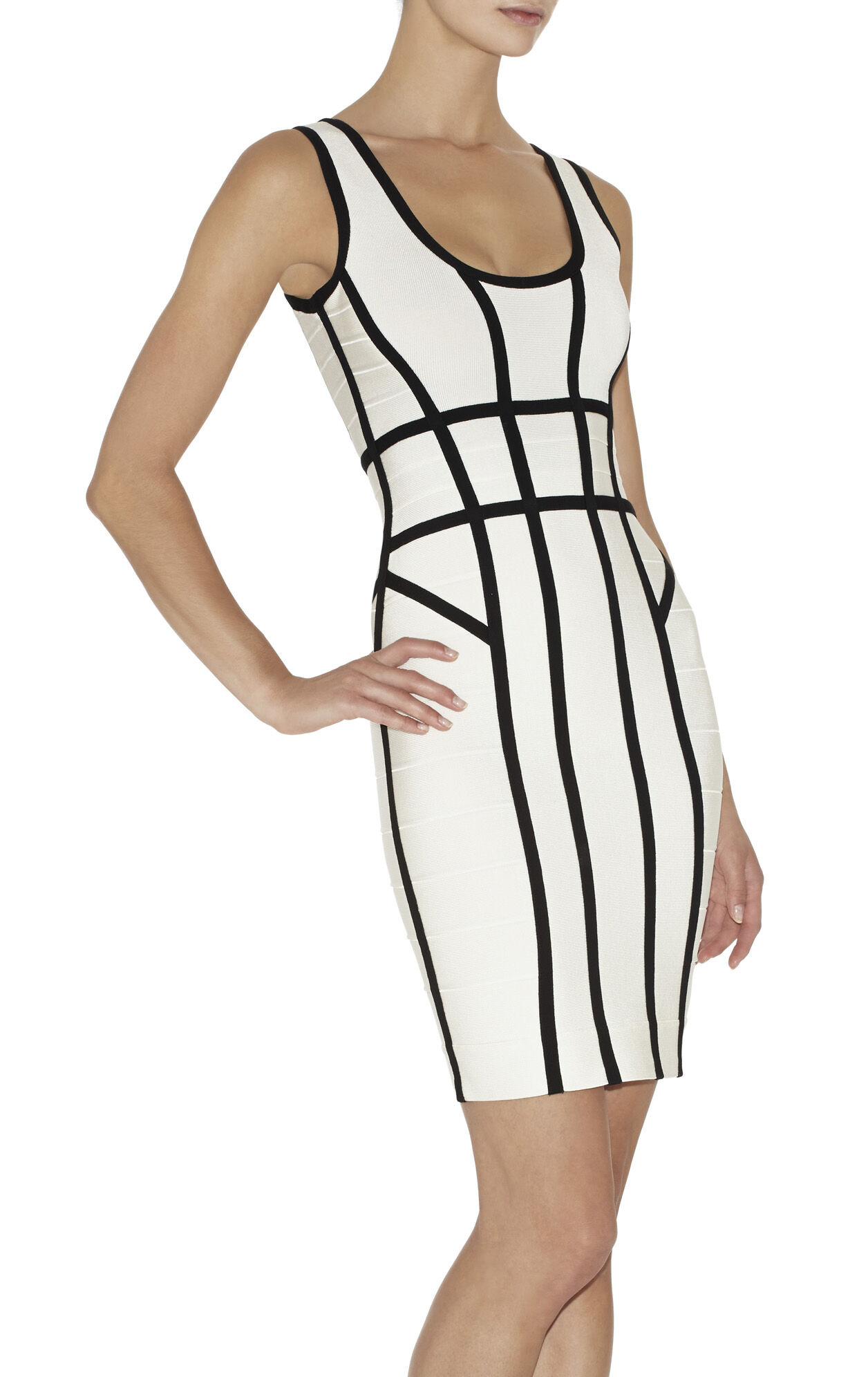 Mae Border-Banding Dress