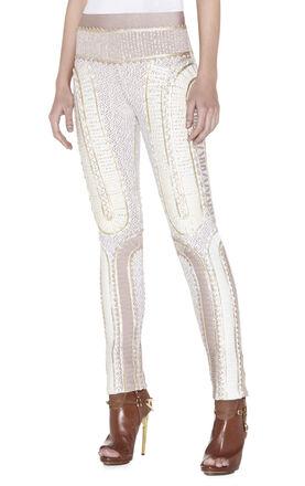 Leah Multi-Mixed Applique Pant