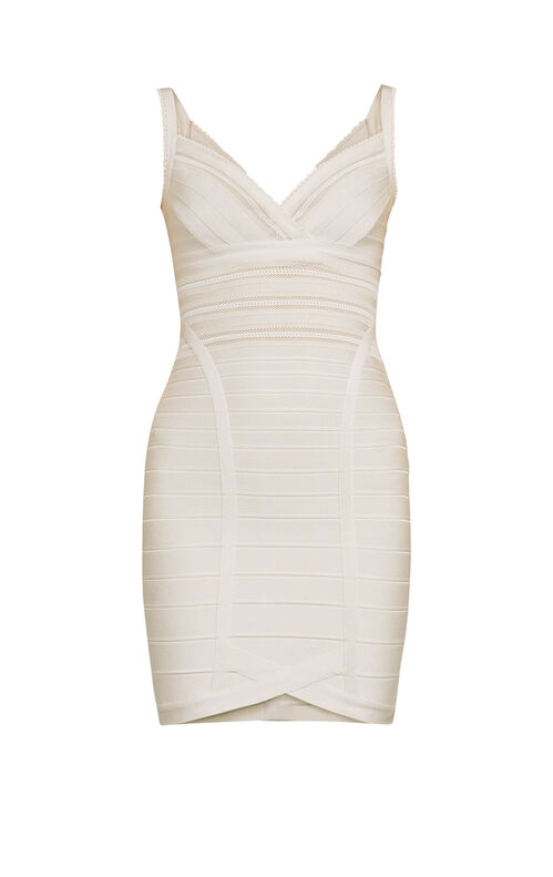 Vivien Mesh Bandage Dress
