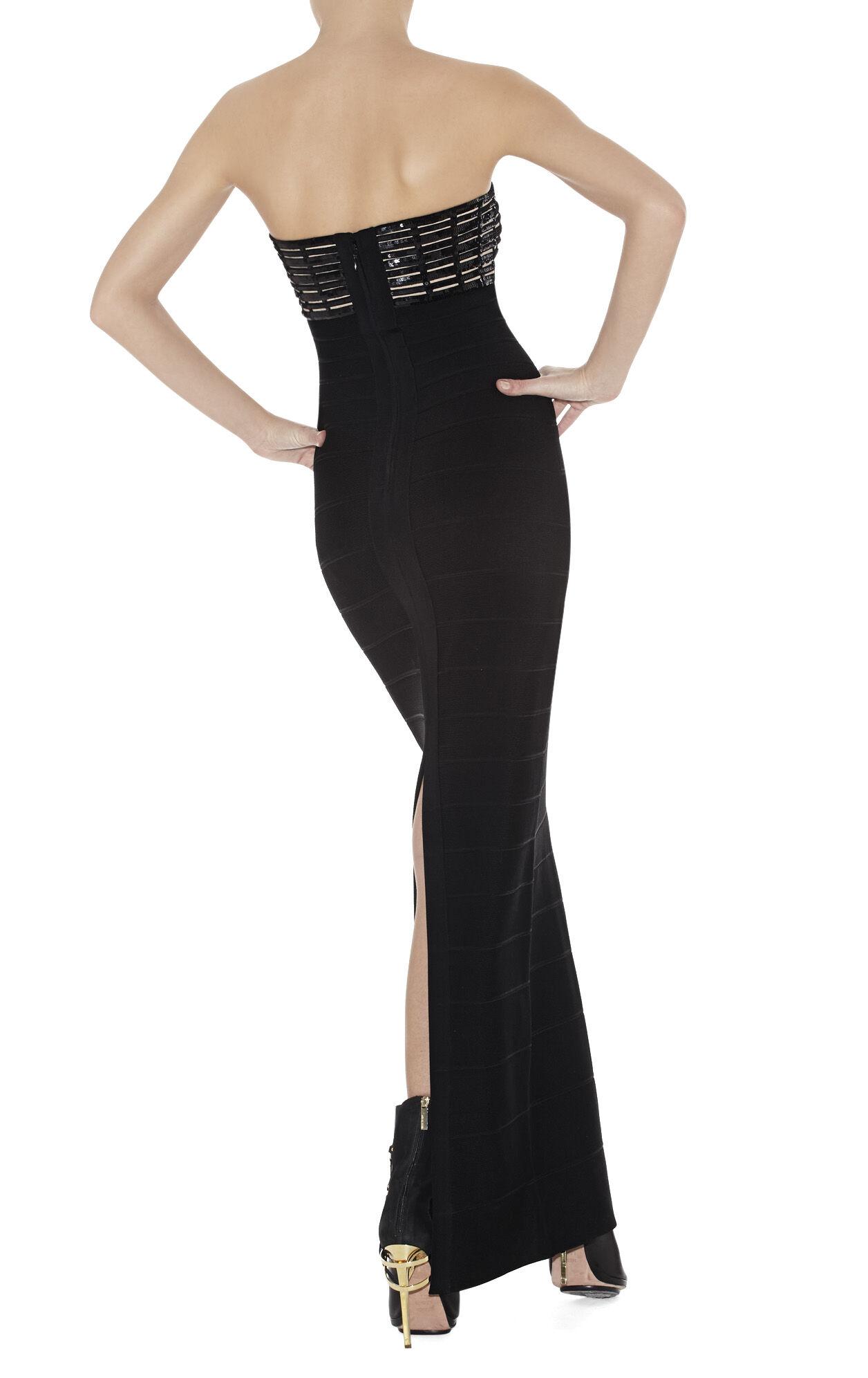 Florence Grid Bandage Dress