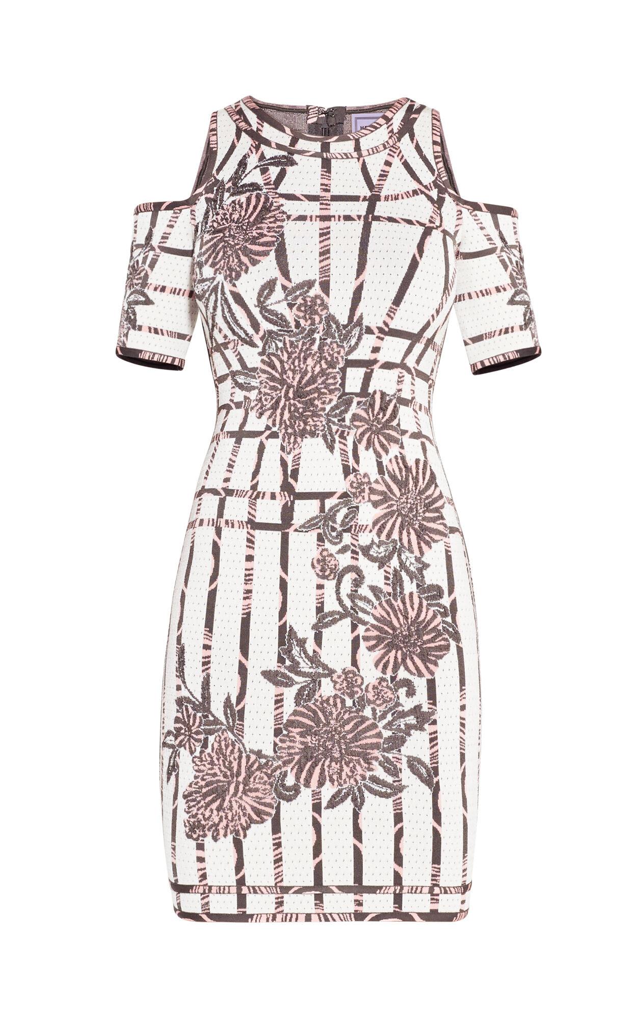 Camilla Flower Detail Beading Dress