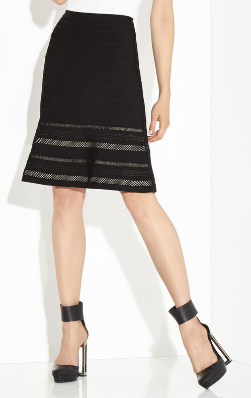 Magali Multi-Crochet Stitch Flounce Skirt