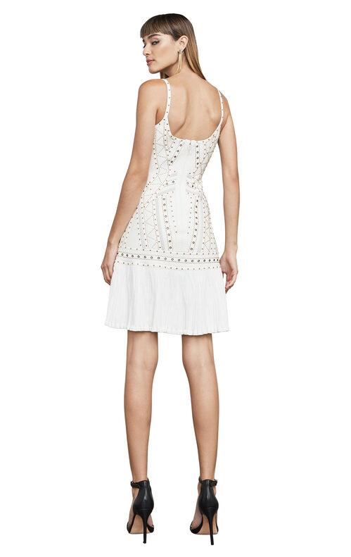 Adeline Eyelet Jacquard Bandage Dress
