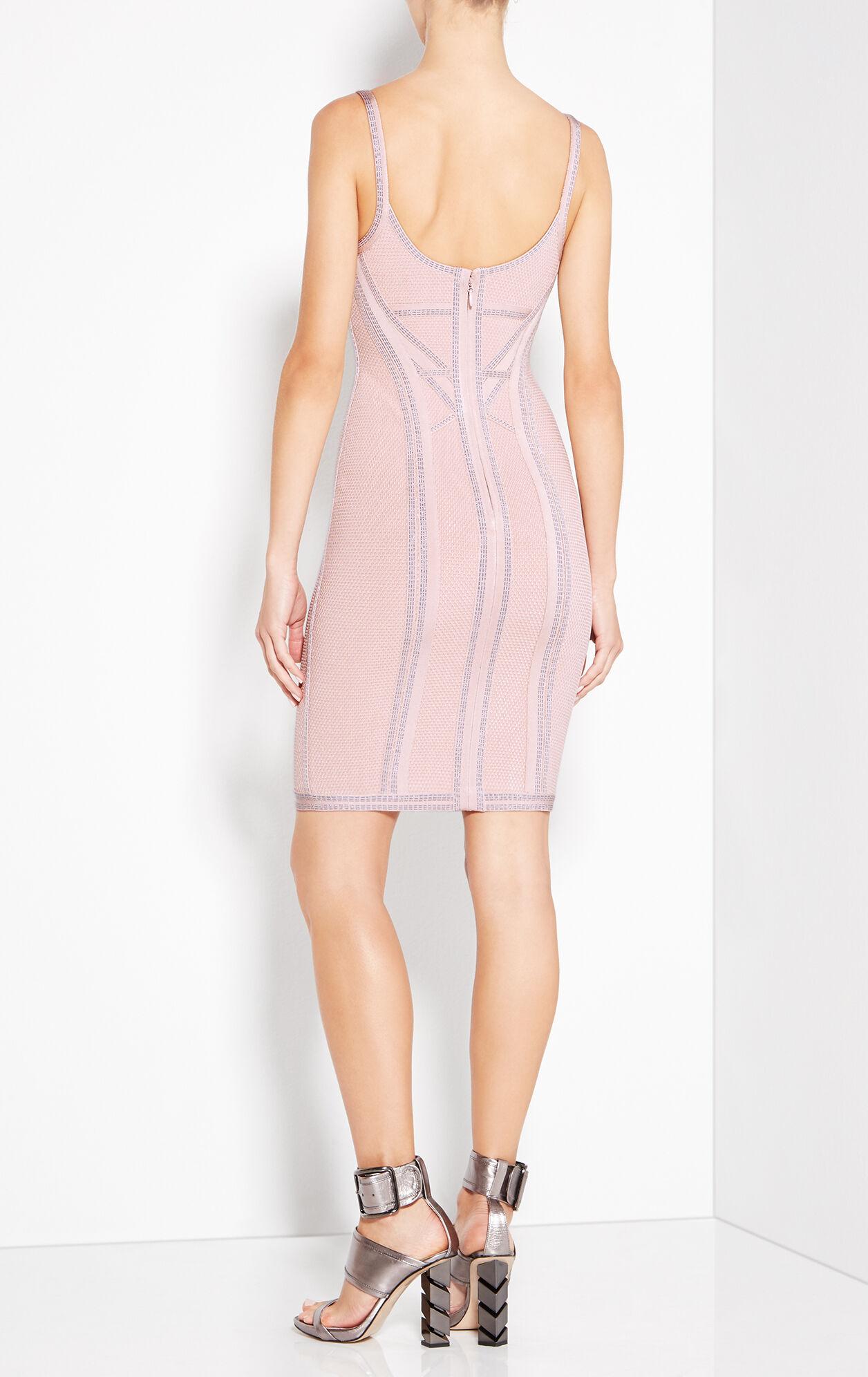 Elissa Metallic Stitch Dress