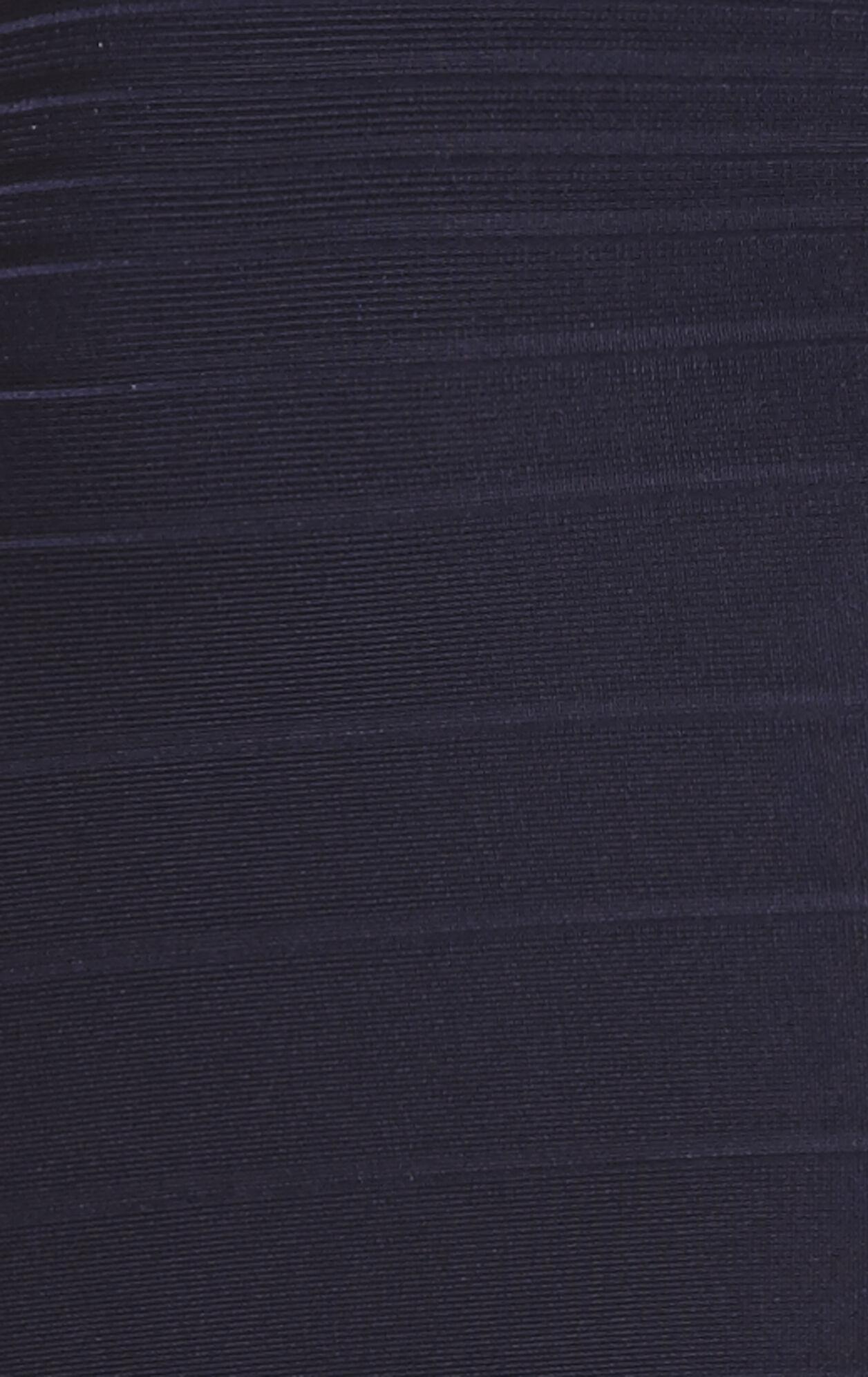 Stella Signature V-Neck Bandage Dress