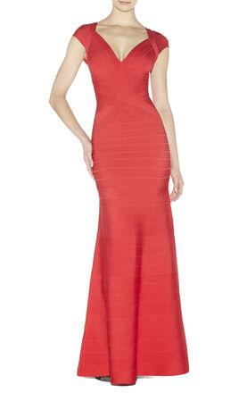 Leslie Angled Bandage Dress