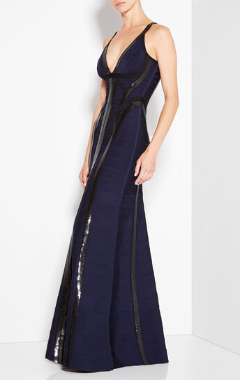 Katara Sequined Gown